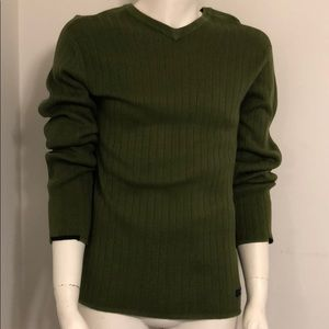 Abercrombie & Fitch 90's Green Sweater